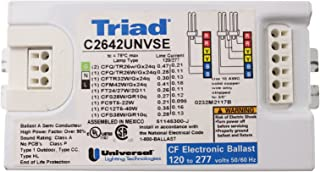 Universal C2642UNVME Compact Fluorescent Ballast, 2 Lamp, 26W CFL, 120/277V