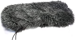 Microphone Windscreen Muff Cover Shield for Rode Videomic Blimp, DeadWambat Windshield for Outdoor Portable Digital Recorder Furry, Block Out Wind Noise for Video Shooting Shotgun Micropho (For Blimp)