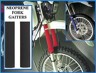 Proline Neoprene Fork Leg Gaiters , 38Mm Diameter X 350Mm Length , Color Black