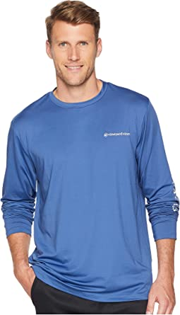 Long Sleeve Performance Vented Boating Tee