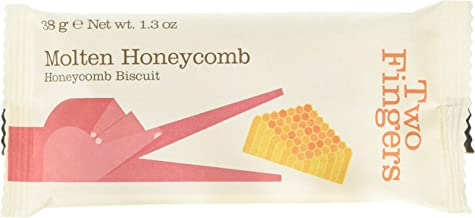 Artisan Biscuits Two Fingers Molten Honeycomb Biscuits, 38 g
