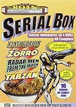 The Roan Group Serial Box: Radar Men From The Moon, The New Adventrues of Tarzan, Zorro`s Righting Legion, Flash Gordon Co...
