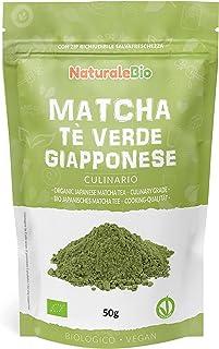 Ekologiskt grönt matcha pulverte [ KULINARISK KVALITET ] 50g. Matchate producerat i Japan, i staden Uji, Kyoto. Perfekt fö...