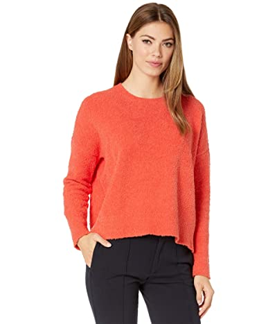 Eileen Fisher Boxy Crew Neck Top (Marmalade) Women