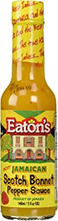Eaton's Jamaican Scotch Bonnet Pepper Sauce 5 Ounce Used for Flavoring Dishes Soups and Condiment