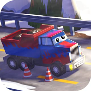 Little Truck in Action Free: 3D Camion Driving Game with Funny Cars for Kids