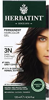 Herbatint 3N Permanent Herbal Dark Chestnut Haircolor Gel Ki