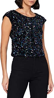 APART Fashion Sequins Top dames bloes