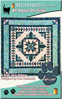 Deb's Cats N Quilts pattern - All About Da Grids (47