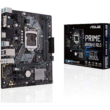 ASUS INTEL H310 搭載 LGA1151 対応 マザーボード PRIME H310M-E R2.0 【 Micro ATX 】