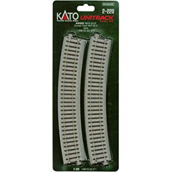 Kato 2-220 HO Unitrack 24 radius curve 4 pieces SG/_B018B8RXUC/_US
