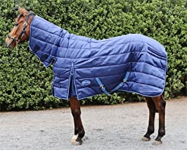 Barnsby Equestrian Horse Stable Rug/Blanket with Neck Combo - 420 Denier with 300g Fill