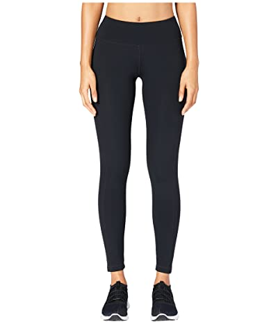Core 10 Flashflex Medium Waist Run Leggings (Black) Women