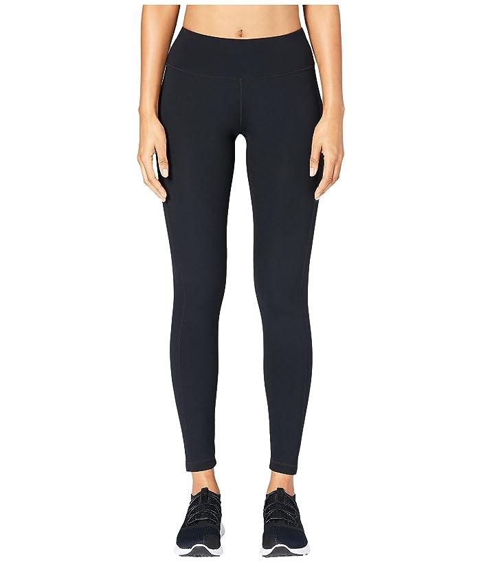 Core 10 Flashflex Medium Waist Run Leggings (Black) Women