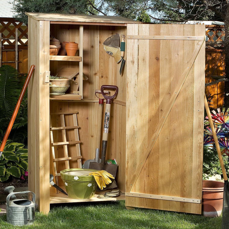 All Things Cedar GH30  Garden Storage Hutch, 34