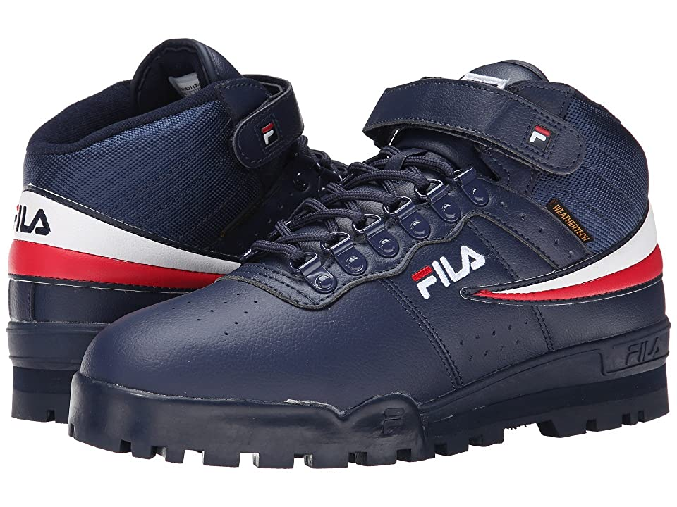 Fila F-13 Weather Tech (Fila Navy/White/Fila Red) Men's Shoes