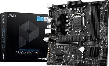 MSI B560M Pro-VDH Carte mère Intel B560 LGA 1200 Micro ATX