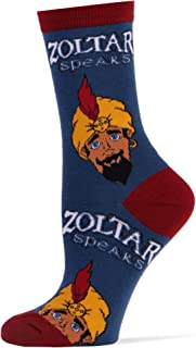 JYinstyle Funny Novelty Socks Womens Crew Zoltar Speaks Again
