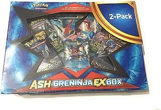 Pokemon Ash-Greninja EX and Beware GX 2 Pack Trading Card Game