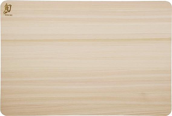 Shun Dm0817 Hinoki Cutting Board Large Kitchen Dining Amazon Com