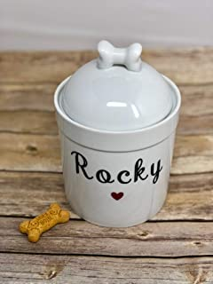 Best personalized dog treat canister Reviews