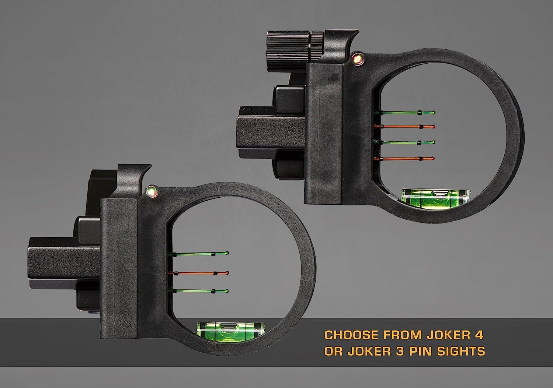 Trophy Ridge Joker 4-Pin Sight Black, One Size : Everything Else