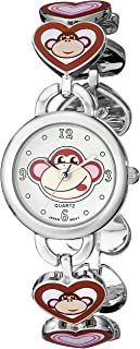 Frenzy Kids' FR240 Monkey Novelty Analog Bracelet Watch