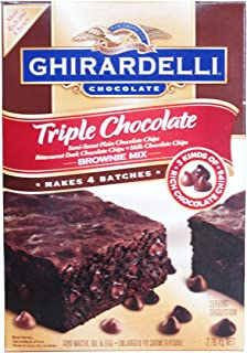 GHIRARDELLI ギラデリ チョコブラウニーミックス チョコチップ入り 2.26Kg(565g×4袋)