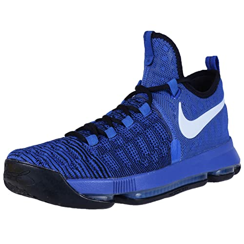 Nike Zoom KD 9 Men s Shoes Royal Black White 843392-410 (11 013d1cd71