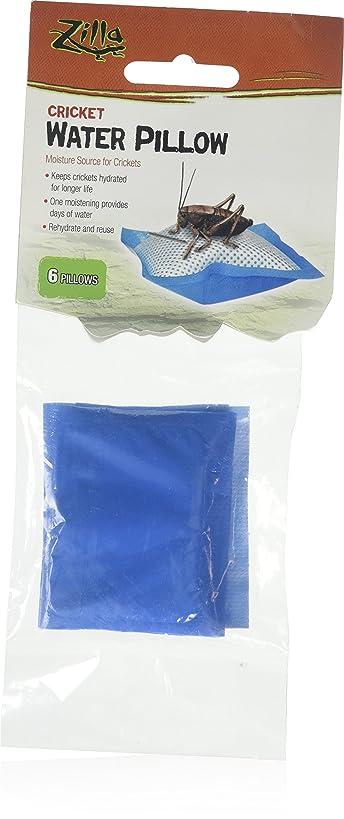 (3 Pack) Zilla Cricket Water Pillows, 6 Pillows Each