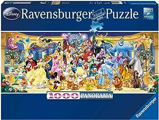Ravensburger Disney Characters Panoramic 1000pc,Adult Puzzles