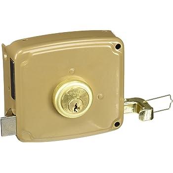 Cofan 14940100I Cerradura sobreponer con cerradero izquierda, 100 mm: Amazon.es: Bricolaje y herramientas