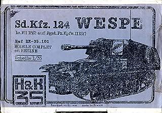 H & K 35 1:35 Sd.Kfz.124 Wespe le.FII 18/2 Ausf Fgst Pz.Kpfw.II(Sf) Kit #35.101
