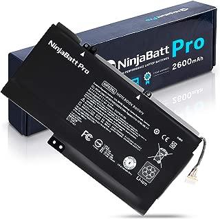 NinjaBatt Laptop Battery NP03XL for HP Envy 15-U010DX 15-U011DX Pavilion X360 13-A010DX 13-A113CL 13-B080SA 761230-005 760944-421 HSTNN-LB6L TPN-Q146 TPN-Q147 - High Performance [43Wh/11.4v]