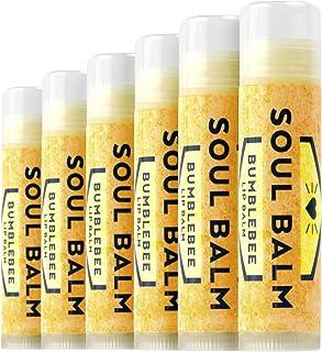 Soul Balm - Natural Lip Balm (Bumblebee) (6pack)