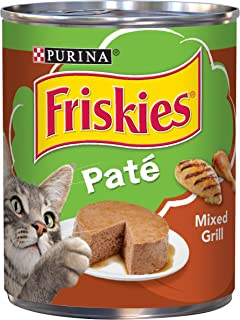 Purina Friskies Pate Mixed Grill Wet Cat Food, 368g