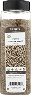 Spicely Organic Cumin Seeds 14 Oz Certified Gluten Free