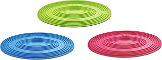 Bonita Silicone Pad-Set Of 3, Colour Box, Assorted