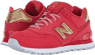 (ニューバランス) New Balance メンズランニングシューズ?スニーカー?靴 WL574 Team Red/Metallic Gold チーム レッド/メタリック ゴールド 8.5 (26.5cm) B