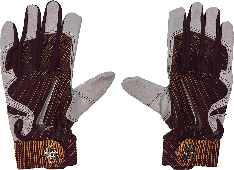 Amazon.com : Nike Men`s Huarache Elite Baseball Batting Gloves 1 ...
