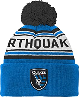 Outerstuff MLS Boys' Cuffed Knit Hat with Pom
