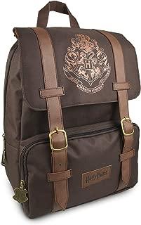 Official Harry Potter Hogwarts Logo Flapover Laptop Backpack School Bag