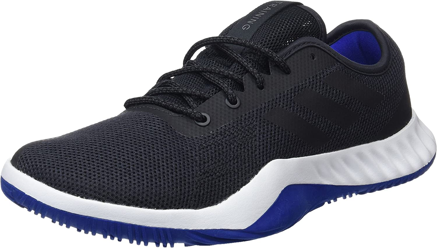 Adidas Men's Crazytrain LT M, Carbon CORE Black Collegiate Royal