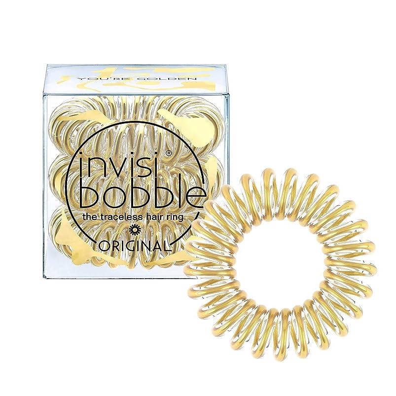 山近々獣INVISIBOBBLE Original The Traceless Hair Ring 3 - You're Golden [並行輸入品]