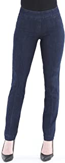 Vincenté Women's Super Slimming Perfect Comfort Fit Pull On Narrow Leg Pant with Contoured Waistband and Tummy Control