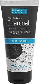 BEAUTY FORMULAS_Charcoal Facial Scrub oczyszczaj¹cy peeling do twarzy z aktywnym wêglem 150ml
