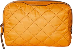 Perry Quilted Nylon Small Cosmetic Case