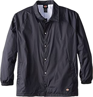 Dickies Men's Big & Tall Snap Front Nylon Jacket