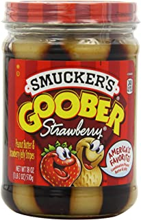 Smucker's Goober Strawberry PB and J Stripes, 18 Ounce