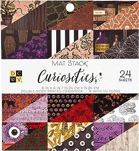 DCWV Curiosities Cardstock, Multi